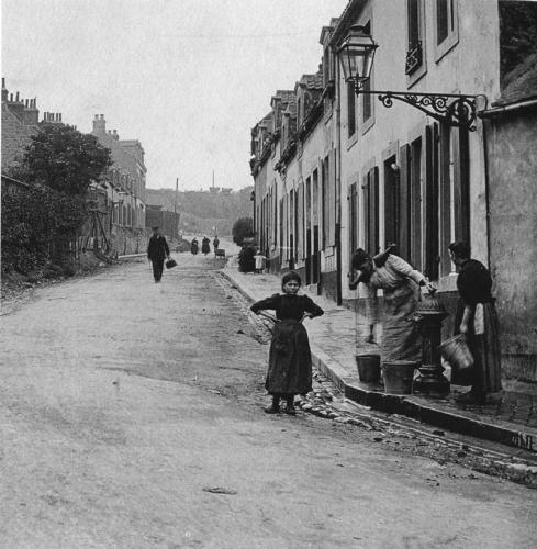 Capécure en 1900